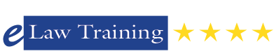 e-Law Training Logo